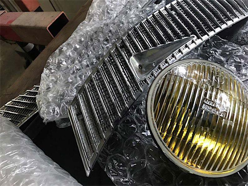 1978 Mercedes restoration 22