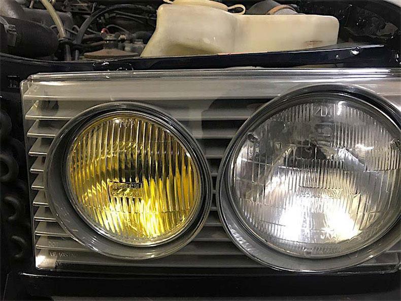 1978 Mercedes restoration 5