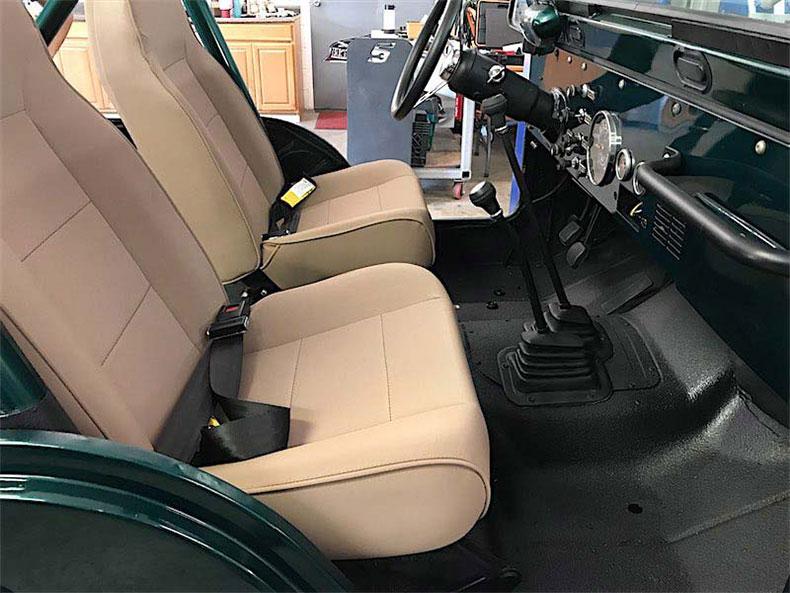 1980 CJ 5 jeep restoration final