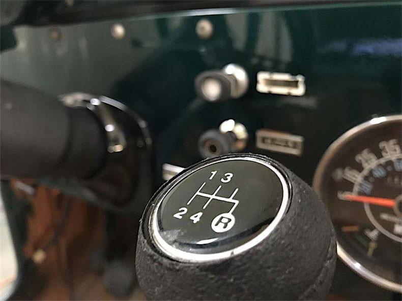 1980 CJ 5 jeep restoration manual gearbox