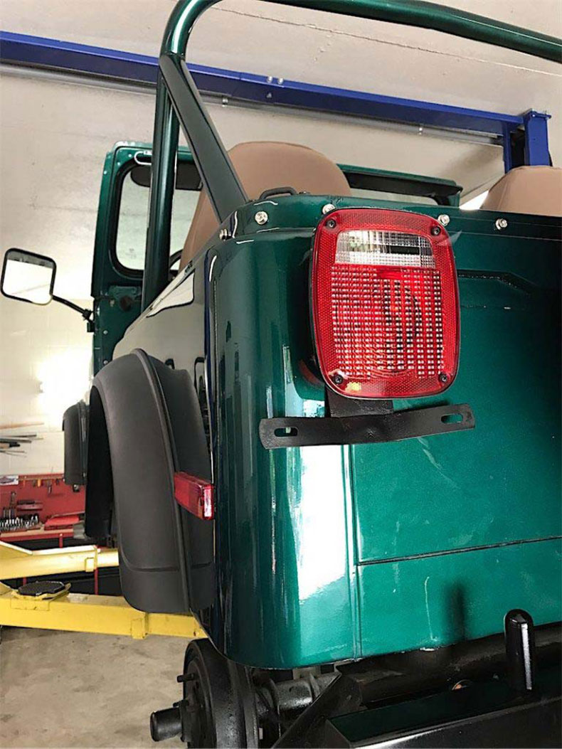 1980 CJ 5 jeep restoration 2