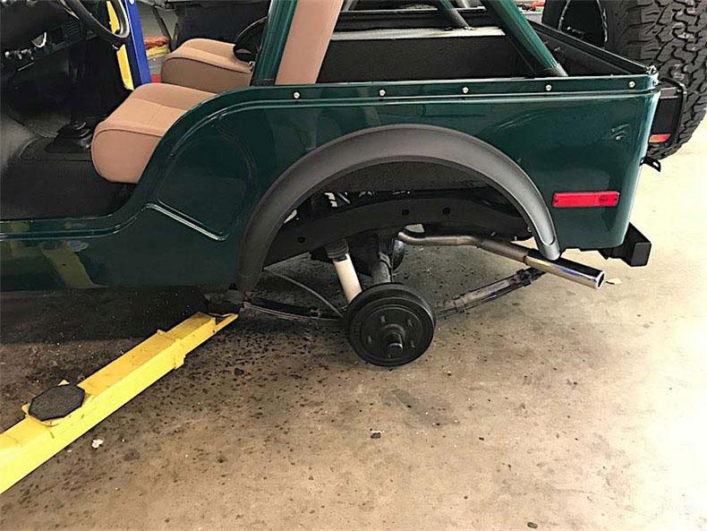 1980 CJ 5 jeep restoration 3