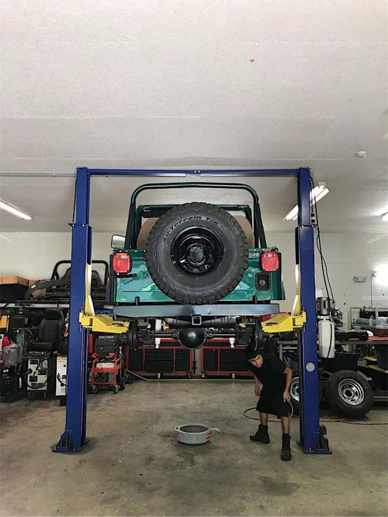 1980 CJ 5 jeep restoration 4