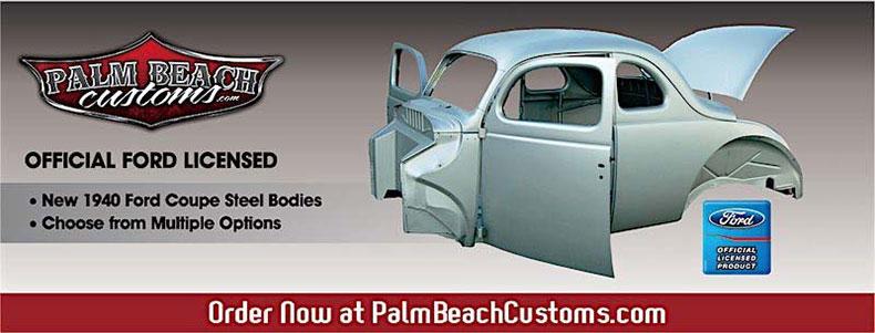 40 ford website header banner