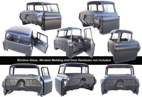 Your Cab Will Look Amazing With This 1947-50 Chevy Cab Body