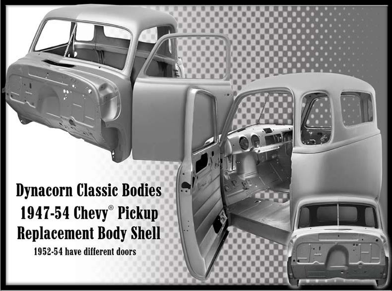 1947-1957 chevy truck steel bodies 2