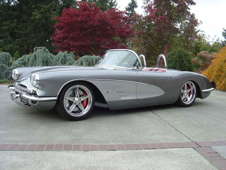 AME 1953-1962 corvette chassis