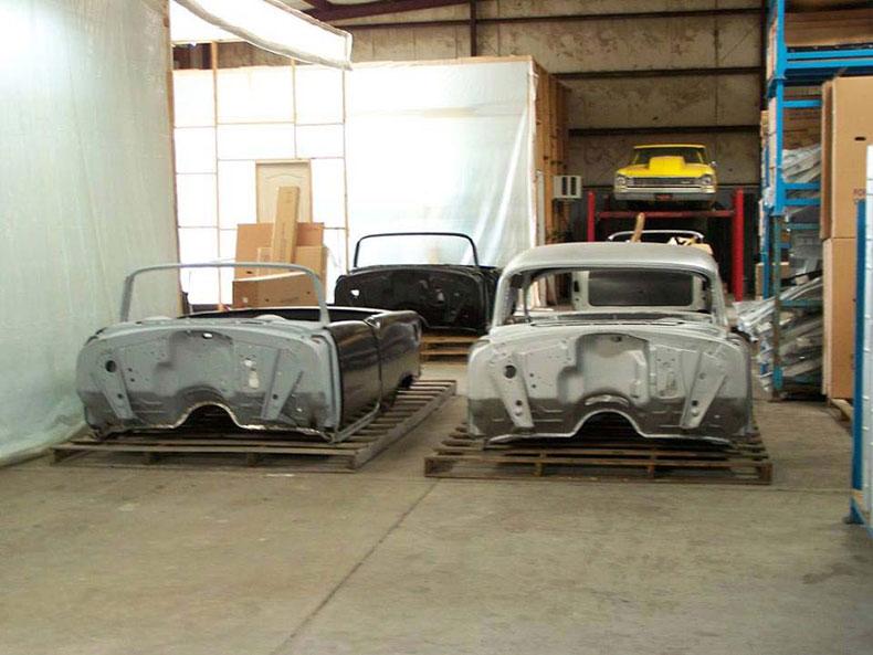 tri-five chevy custom build 60s chevrolets