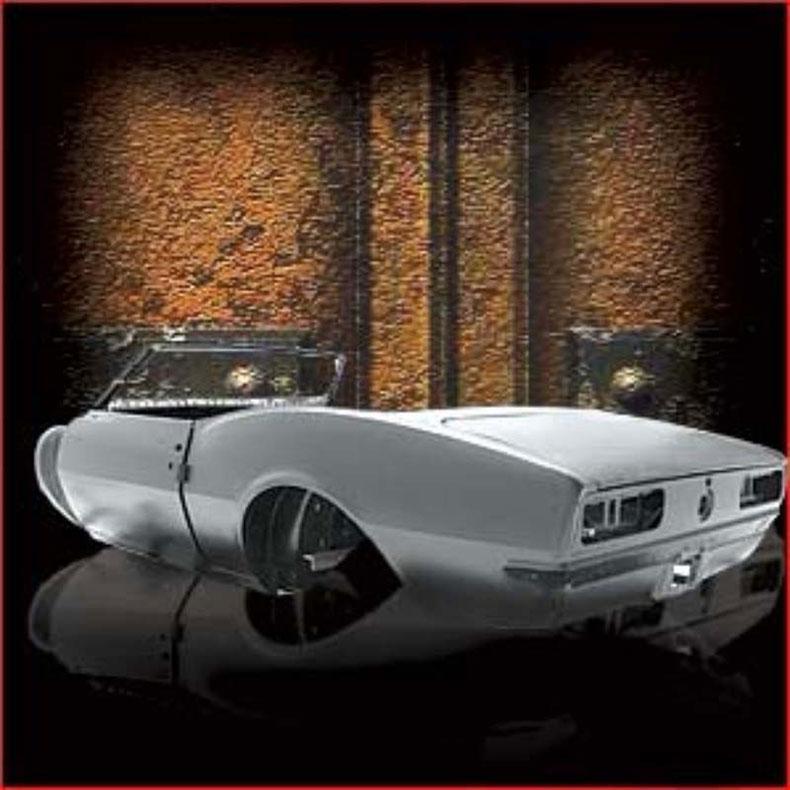 1967-69 camaro convertible body