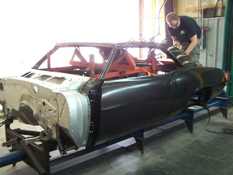 1967-69 camaro coupe complete package body shell chevy and camaro
