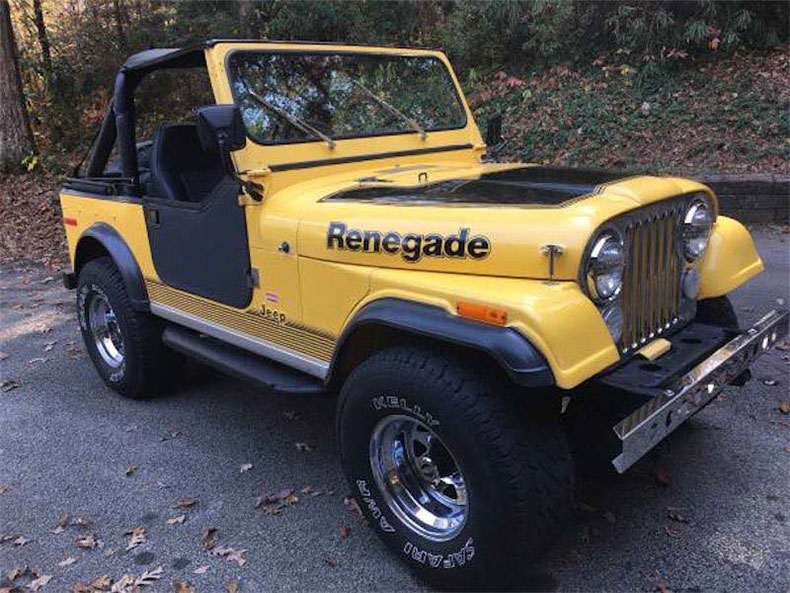 CJ-7 jeep 1984 renegade restorations & custom builds