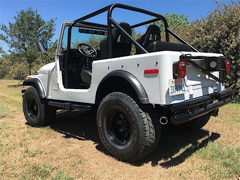 CJ-7 jeep restorations & custom builds 1
