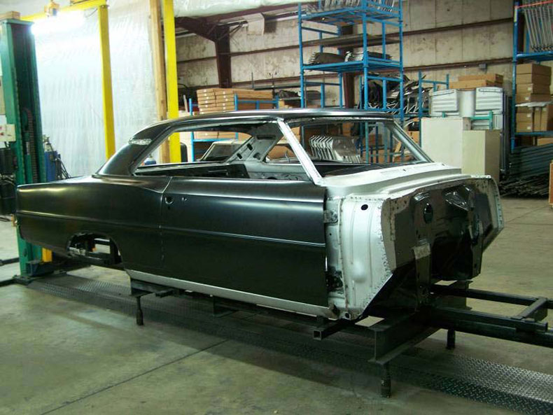 1966-67 chevy II nova skeleton 1