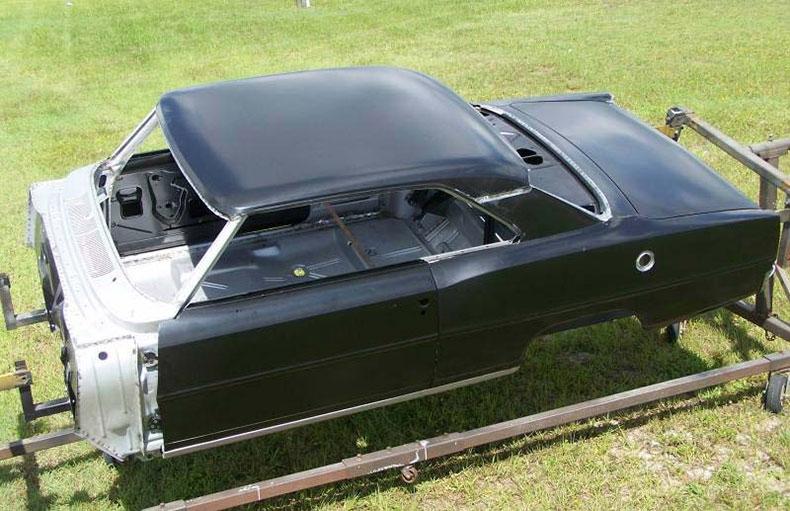 chevy II NOVA 1966-67 steel body 1
