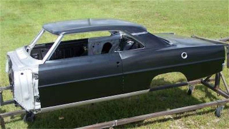 1967-69 camaro muscle car restoration chevy II nova steel body 1