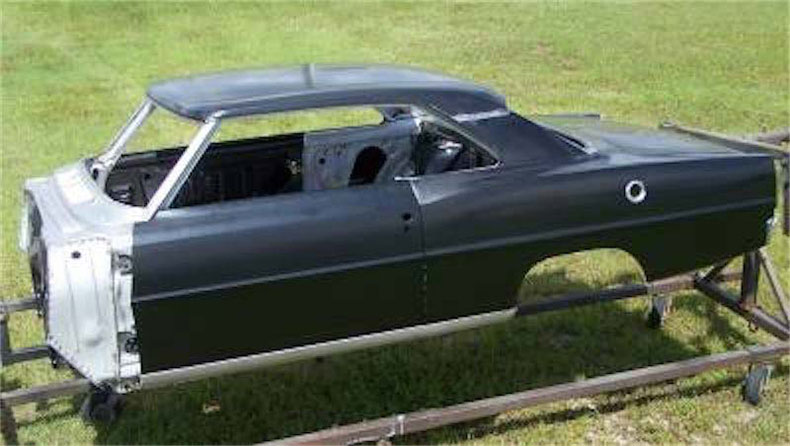 nova chevy II steel bodies, parts, and services at palm beach customs muscle car shop