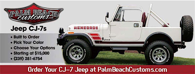 76-86 jeep CJ body tub banner