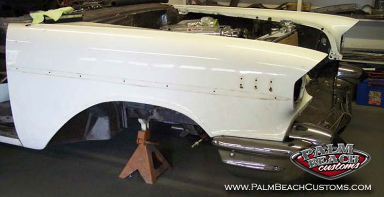 1955 chevy body full restoration of 1957 chevrolet nomad how it all started