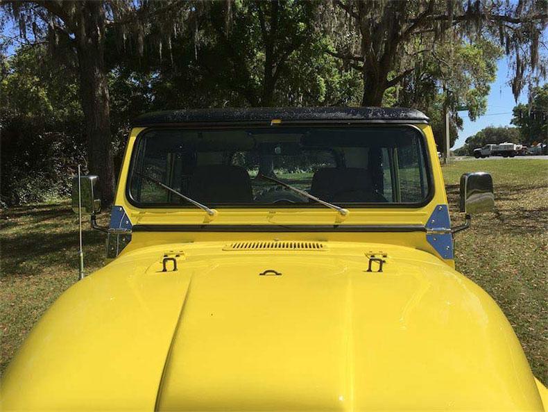 original 1984 CJ-7 jeep restoration in florida cj 7 sunshine jeep sunshine