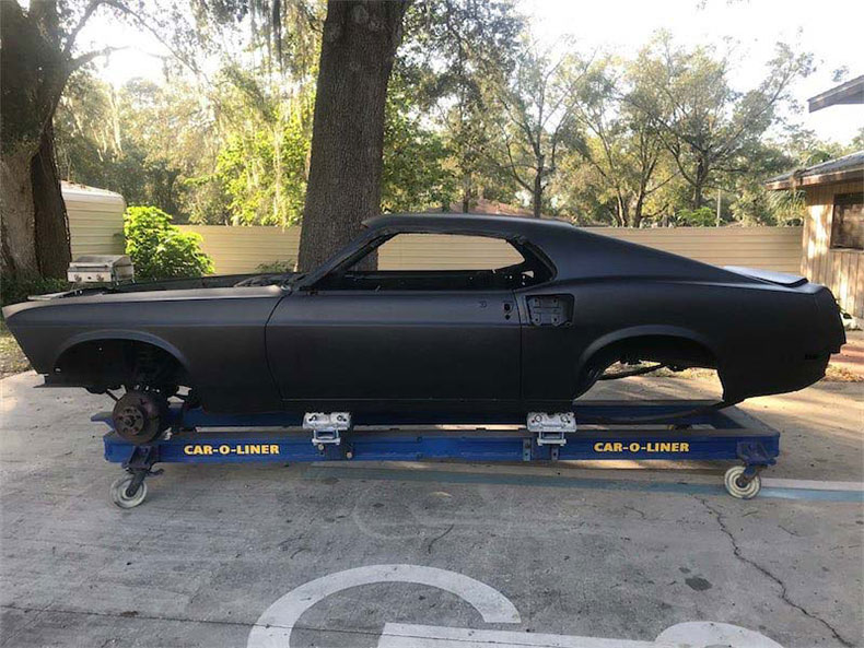 classic and muscle cars to restore mustang fastback steel body