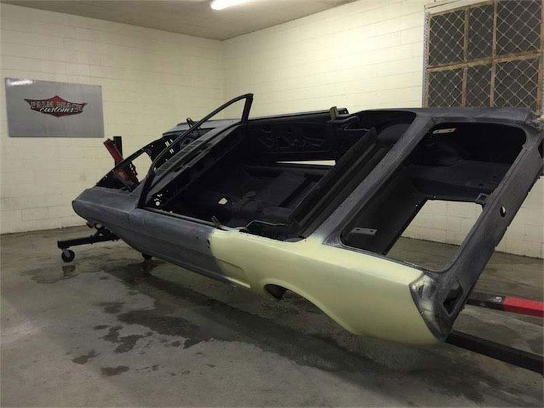 1968 mustang fastback steel body