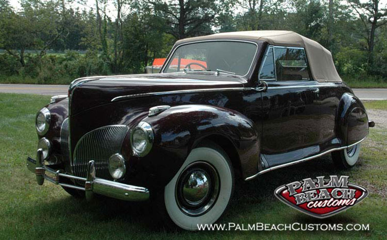 cool classic cars old timer lincoln zepher 1941 fully restored