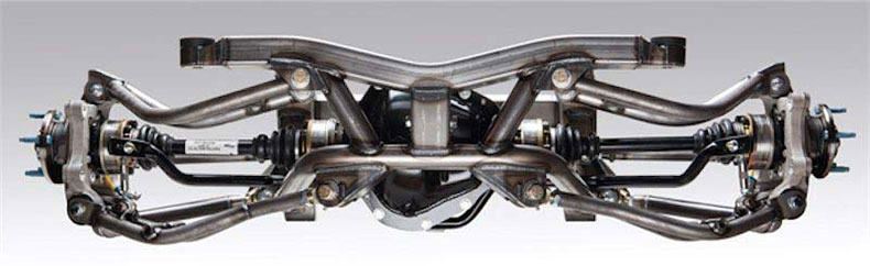 ame camaro irs rear clip chassis