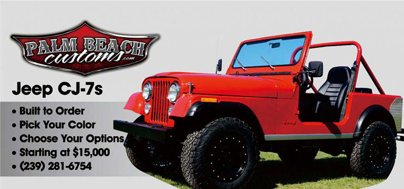 76-86 Jeep CJ7 tub mopar fb banner