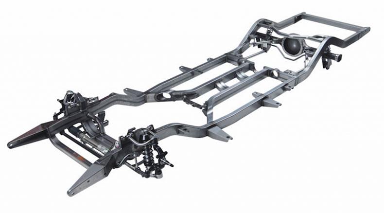 classic and muscle car chassis and suspension options tri five frame