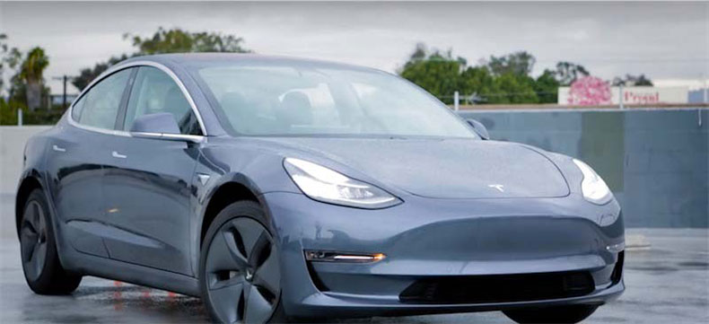 top 5 auto companies electric car tesla model