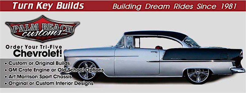 classic and muscle car restoration turn key tri five header