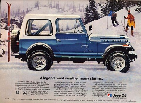 Perfect Foundation With High Quality 76-86 Jeep CJ Body Tub!