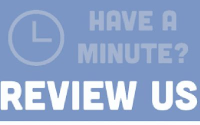 Leave Us A Review – We'd Love To Hear From You
