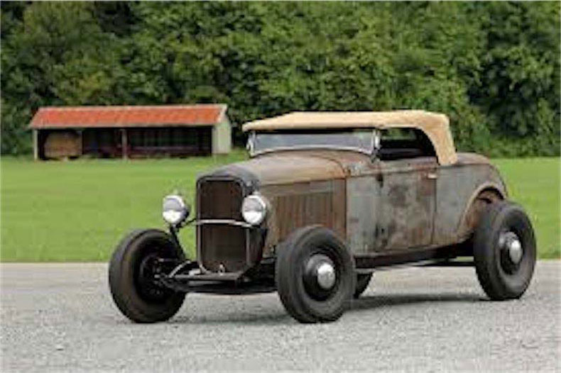 vintage classic car barn find ready for restoration ford roadster
