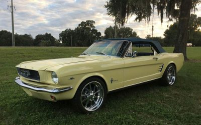 The 1965-70 Mustang In Our Classic And Muscle Car Restoration In Florida