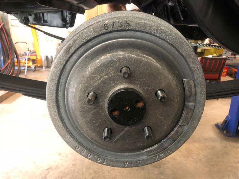 10.2 brake drum