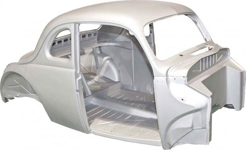 1940 ford coupe body replacement