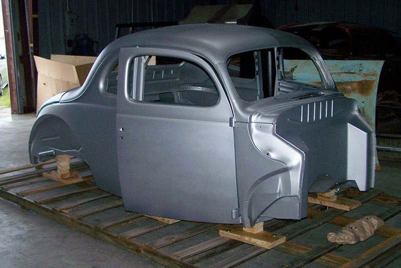 1940 ford recessed firewall doors