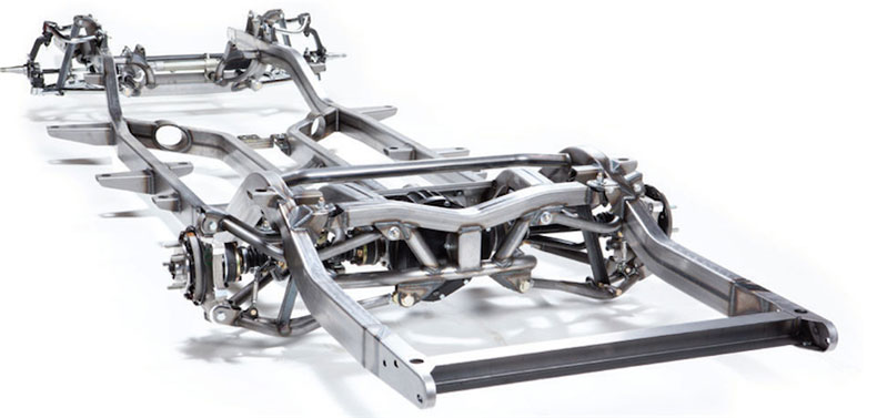 1955-1957 chevy sport multi link chassis