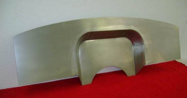 1955-56 Chevy 4' Recessed Smoothie Steel Firewall Upgrade - Image 3