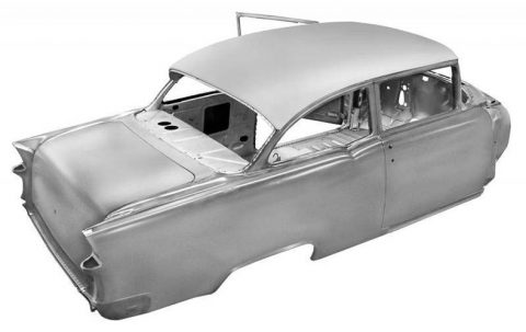 Exclusive Restoration Parts For Your 1955 Chevy 2-Door Sedan!