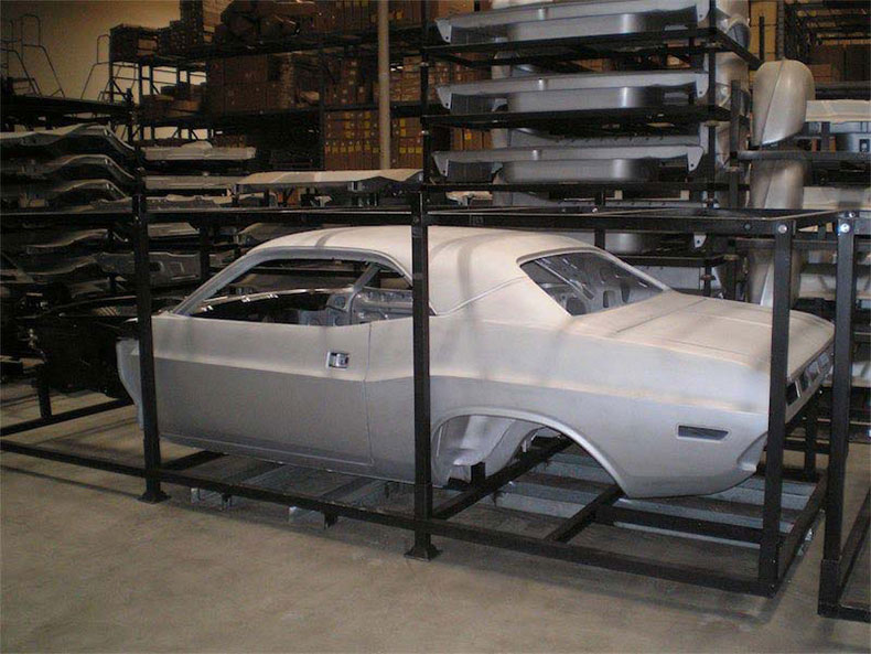 1970 dodge challenger profile crated