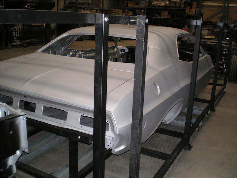 1970 dodge challenger rear view crated