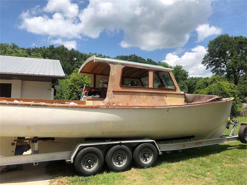 1972 wasque boat restoration