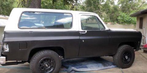 1979 K5 Blazer (Jimmy) Restoration