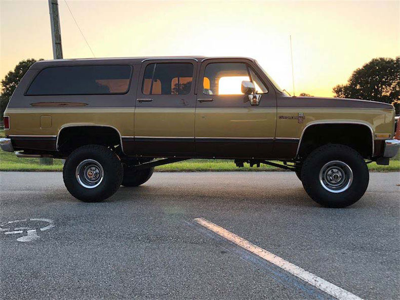 1988 burb life 4x4 suburban body and paint work