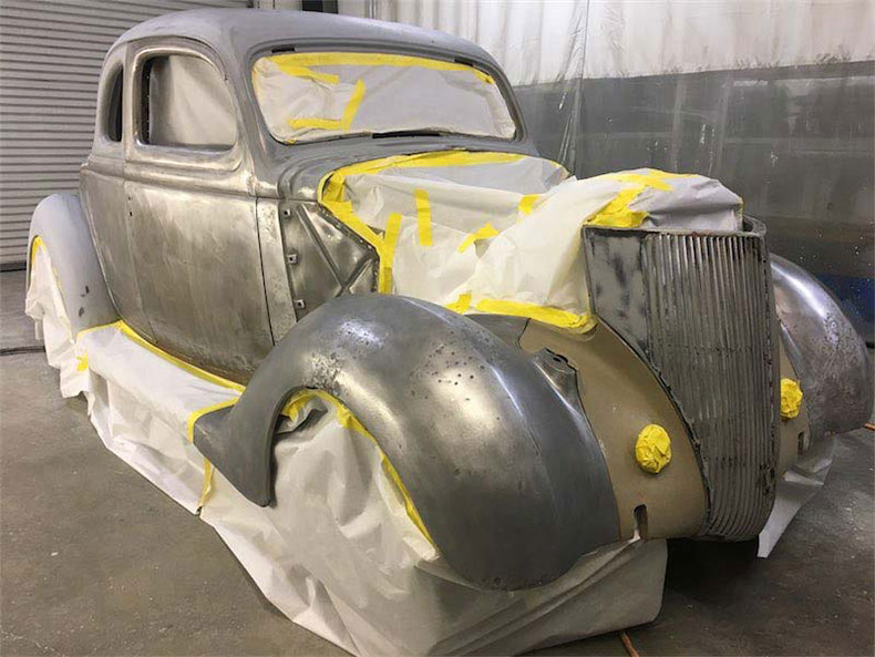 36 ford steel body