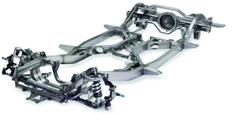 53-62 corvette chassis