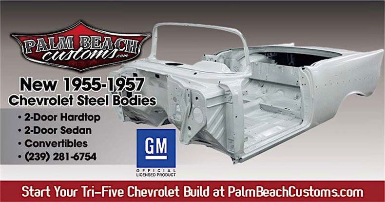 55-57 steel body chevy fb banner