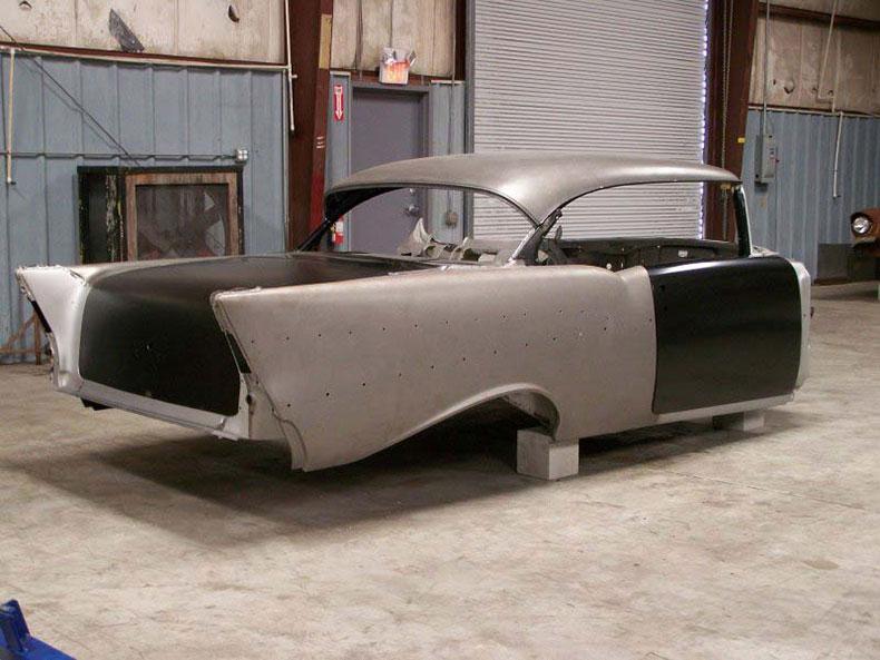 1957 chevy steel body 2-door hardtop